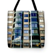 Textures Of The City Tote Bag