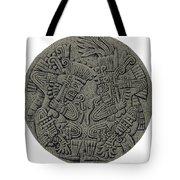 Tezcatlipoca And Huitzilopochtli Tote Bag by Photo Researchers