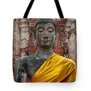 Thai Buddha Tote Bag by Adrian Evans