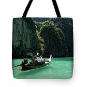 Thai Long Tail Boat  Tote Bag
