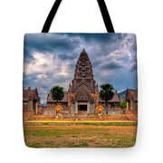 Thai Temple Tote Bag