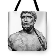 Thales, Ancient Greek Philosopher Tote Bag by Science Source