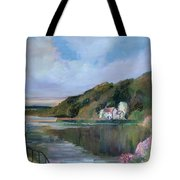 Thames River England By Mary Krupa Tote Bag