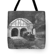 Thames Tunnel: Train, 1869 Tote Bag