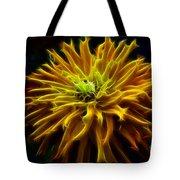 thank you Zinnia Flower Tote Bag