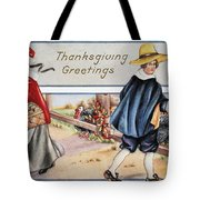 Thanksgiving, C1900 Tote Bag