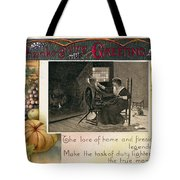 Thanksgiving Card, 1909 Tote Bag