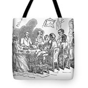 Thanksgiving Dinner, 1850 Tote Bag