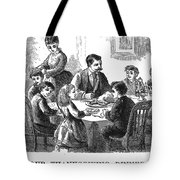 Thanksgiving Dinner, 1873 Tote Bag