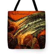 Thanksgiving Greeting Card Tote Bag