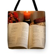 Thanksgiving Psalm 18 Tote Bag
