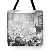 Thanskgiving Dinner, 1857 Tote Bag
