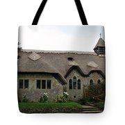 Thatched Church Tote Bag