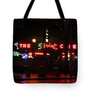 The 5 Point Cafe Tote Bag