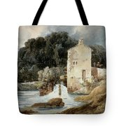 The Abbey Mill - Knaresborough Tote Bag