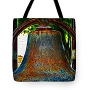 The Academy Bell Fractal Tote Bag