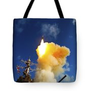 The Aegis-class Destroyer Uss Hopper Tote Bag