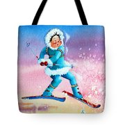 The Aerial Skier - 8 Tote Bag