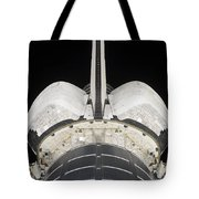 The Aft Portion Of The Space Shuttle Tote Bag