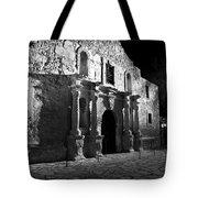 The Alamo At Night Tote Bag