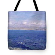 The Albanian Sea Tote Bag