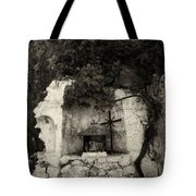 The Altar 2 Bw Tote Bag