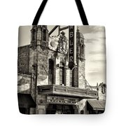 The Ambler Theater In Sepia Tote Bag
