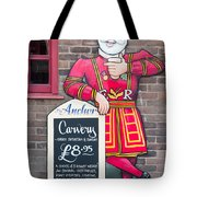 The Anchor Pub Sign Tote Bag