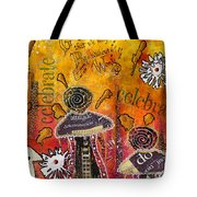 The Angel Brigade - Cropped Version Tote Bag