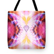 The Angel Of Confidence And Self Worth Tote Bag