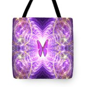The Angel Of Wishes Tote Bag