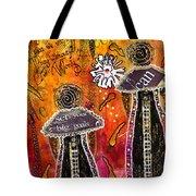 The Angelic Sistahs Tote Bag