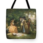 The Angler's Repast  Tote Bag