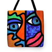 The Answer Is Three Tote Bag by Steven Scott