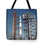The Apollo 8 Space Vehicle Tote Bag