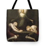 The Appearance Of Christ At Emmaus Tote Bag