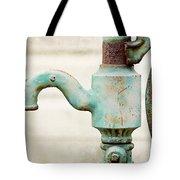 The Aqua Pump Tote Bag