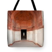 The Architecture And Doorways Of The Humayun Tomb In Delhi Tote Bag