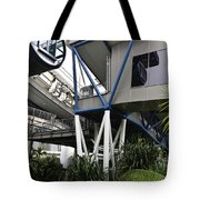 The Area Below The Capsules Of The Singapore Flyer Tote Bag