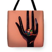 The Arm And Hand Tote Bag