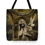 The Arrival Tote Bag by Carla Carson