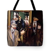 The Art Critic Tote Bag