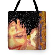 The Artist Who Found Her Smile Tote Bag