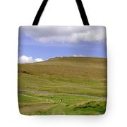 The Ascent Of Mam Tor Tote Bag