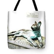 The Asian Civilisations Museum Cat Tote Bag