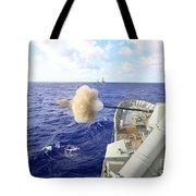 The Australian Navy Frigate Hmas Tote Bag
