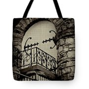 The Balcony  Tote Bag