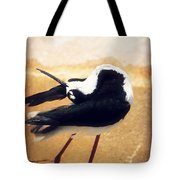 The Ballerina Bird Tote Bag