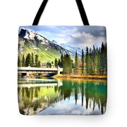 The Banff Bridge Tote Bag