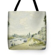 The Banks Of The Seine At Bougival Tote Bag